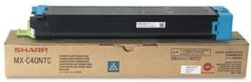 Sharp - Mxc40ntc Toner 10000 Page-Yield Cyan Product Category: Imaging Supplies And Accessories/Copier Fax & Laser Printer Supplies by Original Equipment Manufacture