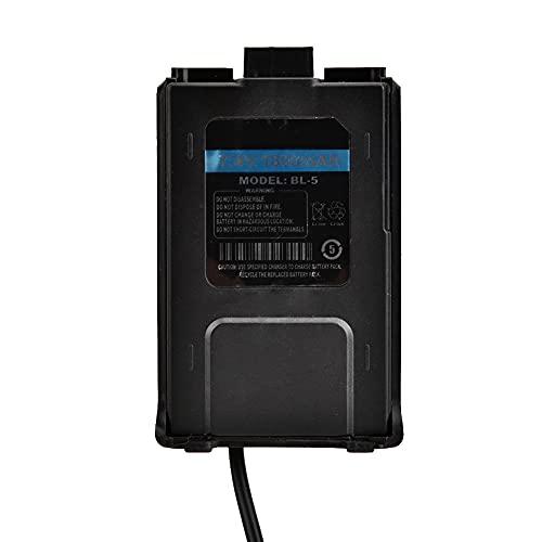 Eliminador de batería del cargador de coche Walkie Talkie, práctico eliminador de batería de Walkie Talkie de viaje, radios de 15,7 a 27,6 pulgadas