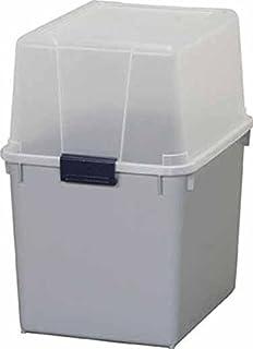 ポリタンクBOX AB-360 クリア/グレー