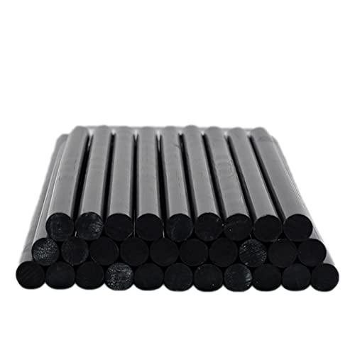 A1-Brave Barras de Silicona, Black 11mm Hot Melt Glue Sticks para GUI Pistola Auto Reparación Herramientas Automóvil Mano Dent Screslo DIY Herramientas (Length : 20pcs)
