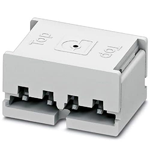 PHOENIX CONTACT PTF 0,3/4-BB-8-H - Conectores para placa de circuito impreso (25 V, 0,34 mm², sección transversal nominal), color blanco