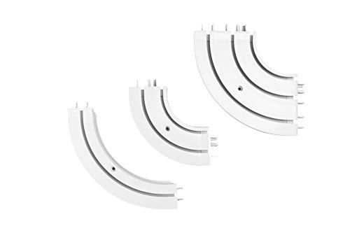 Rundbogen für Gardinenschienen OM | 1-läufig | Hexim | OMR-1