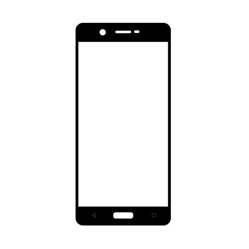 MrSpares Front Screen Outer Touch Glass Cover Panel Lens for Nokia 5 : Black