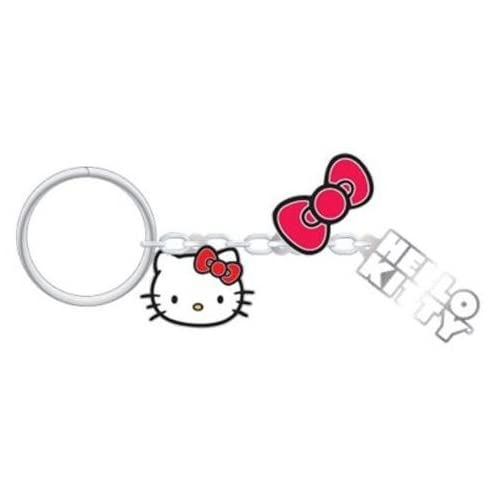 c8ed8c1eb SANRIO PlastiColor 4297R01 Hello Kitty Charm Key Chain