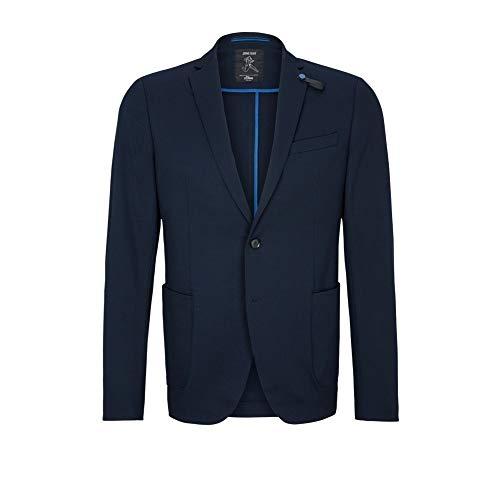 s.Oliver BLACK LABEL Herren Slim: Jogg Suit-Sakko dark blue 54