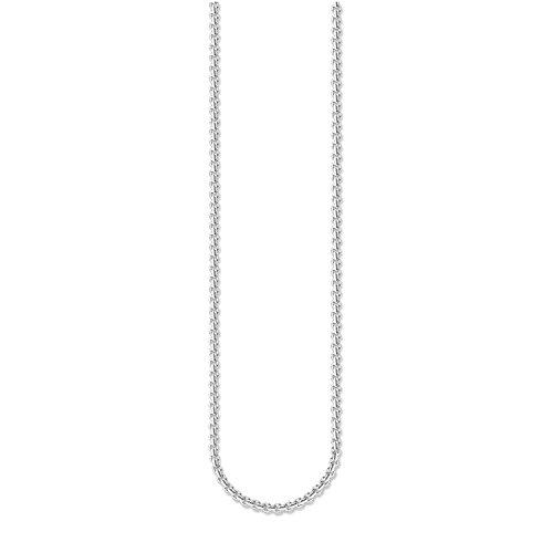 Thomas Sabo Damen-Ankerkette Sterling Silver Kette 925 Silber 45 cm - KE1107-001-12-L45