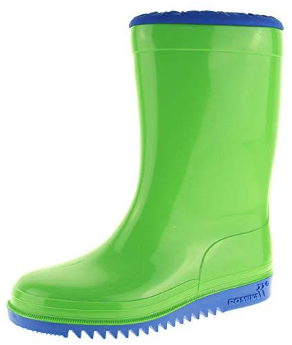 Romika Kadett, Unisex-Erwachsene Halbschaft Gummistiefel, Grün (lime-blau 646), 38 EU