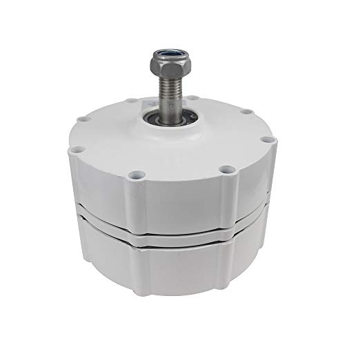 LQQ 800W 500r/m 12/24/48V Generador De Imanes Permanentes Alternador De Ca para Generador De Turbina Eólica Vertical,24V