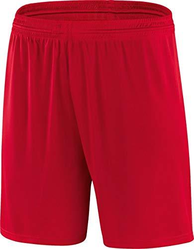 JAKO Herren Short Shorts Sporthose Valencia, Rot, Gr. 8 (Herstellergröße: XL)
