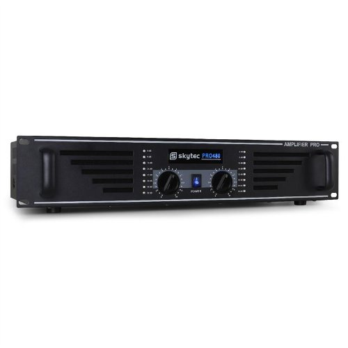 "Skytec Amplificador PA Rack 48cm (19"") 960W Negro"