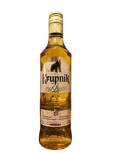 Old Krupnik Liqueur | Polnischer Traditionswodka | Absoluter Klassiker | 38%, 0,5 Liter