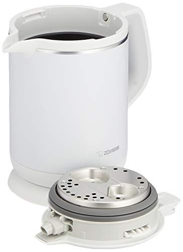 象印電気ケトル0.8L沸騰後1時間90℃保温コーヒードリップ用機能付きホワイトCK-AX08-WA