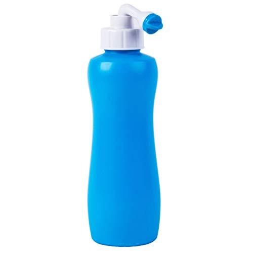 HEALLILY Bidet Fles Handheld Bidet Sproeier Lichtgewicht Persoonlijke Reiniging Draagbare Ass Wasmachine Bidetfles Voor Kinderen Mannen Vrouwen Volwassen 400Ml 1 St