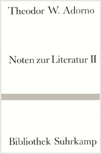 Noten zur Literatur. 2