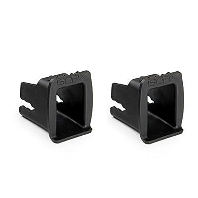 Hauck Connect Me - Accesorios de conexión para sillas de coche, apto para Isofix, color negro
