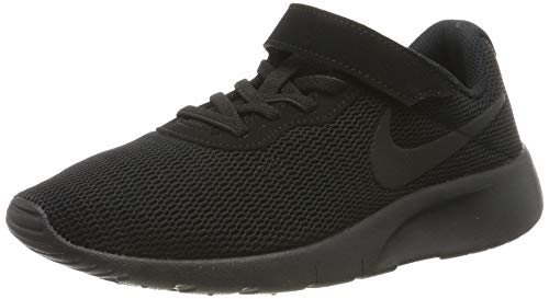 Nike Jungen Tanjun (PSV) Laufschuhe, Schwarz (Black/Black 001), 35 EU