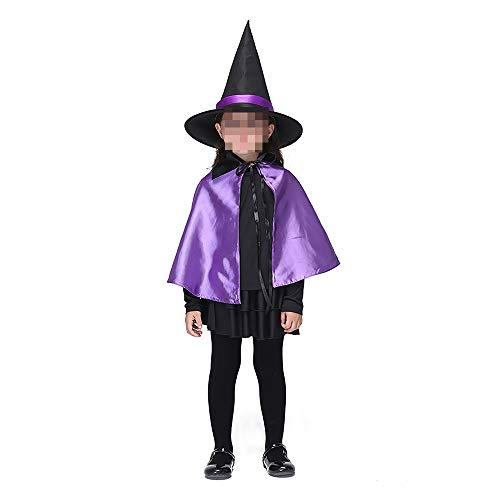 kMOoz Halloweenkostuum, outfit voor Halloween, carnaval, Halloween, Cosplay Horror kostuum, kinderkostuum meisjes heksen set Halloween toveraar Cosplay Medium