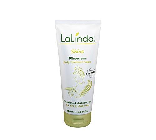 LaLinda Shine - Bodylotion Intensive Feuchtigkeitspflege Getestet: 28% höherer Feuchtigkeitsgehalt der Haut ideal bei trockener Haut Straffender Anti-Aging Komplex 200ml