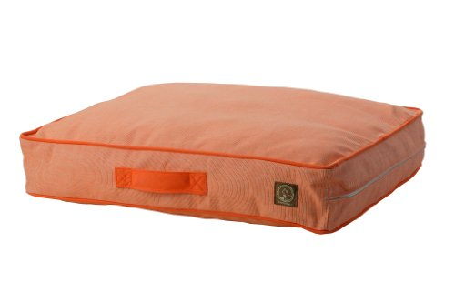 One for Pets Siesta Indoor/Outdoor Pet Bed Dog Bed Duvet Cover, Small, Orange
