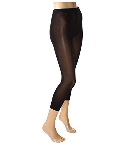 Wolford Damen Leggings (LW) Velvet 66 Leggings, 66 DEN,Black,Medium (M)