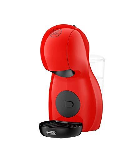 De'Longhi Nescafé Dolce Gusto Piccolo XS EDG 210.R Kapselmaschine (für heiße und kalte Getränke, 15 bar Pumpendruck, manuelle Wasserdosierung) rot