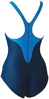 FOOTMARK(フットマーク) レディース フィットネス スクール水着 ワンピース アクアライン 101530 ブルー(10) L