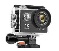 4K Hohe Auflösung - Video: 4K25fps / 2.7K30fps / 1080p60fps / 720p120fps. Foto: 12MP max. Vielseitiger Aufnahmemodus: Videomodus, Fotomodus, Burstfoto, Zeitraffer und Loop-Aufnahmemodus. EKEN H9R ermöglicht es Menschen, selbstständige und fesselnde A...