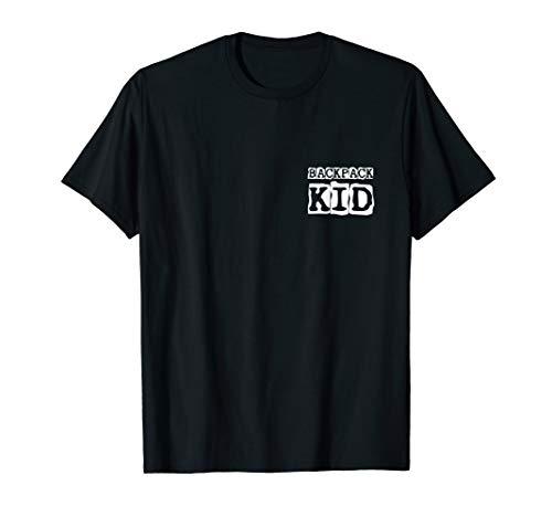 BACKPACK KID - Geschenk Wandern Idee Berg Natur Berge | T-Shirt