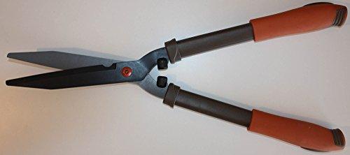 Cisaille à Haies Lames 21 cm, Lames Droites en Acier au Carbone, Lames Acier Japonais SK5, traitées Anti-adhésives et Anti-Corrosion avec revêtement Téflon