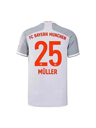 FC Bayern München Herren Away-Trikot Auswärts Saison 2020/21, Gr. XXL, Thomas Müller