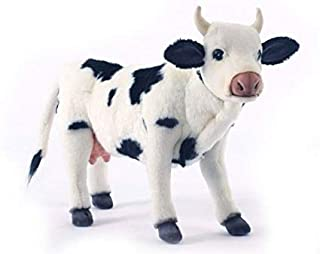 Hansa Cow Plush, Black/White
