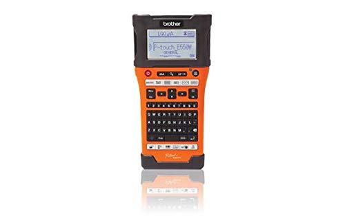 Brother PT-E550WVP Etichettatrice Palmare Professionale con Wi-Fi, Tastiera QWERTY, Taglierina Automatica e Ampio Display Grafico LCD Retroilluminato