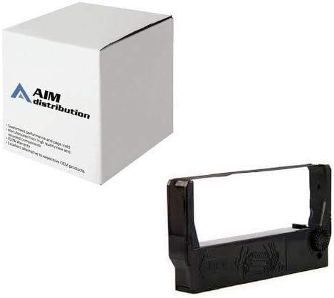 AIM Compatible Replacement for Okidata Okipos 441 Series Black P.O.S. Printer Ribbons (6/PK) (52119001) - Generic