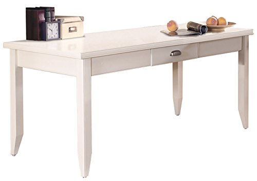 Hot Sale Kathy Ireland Home by Martin Tribeca Loft Writing Table, White