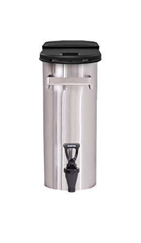 Wilbur Curtis 3.5 Gallon Narrow Tea Dispenser Short - Commercial Iced Tea Dispenser - TNC14
