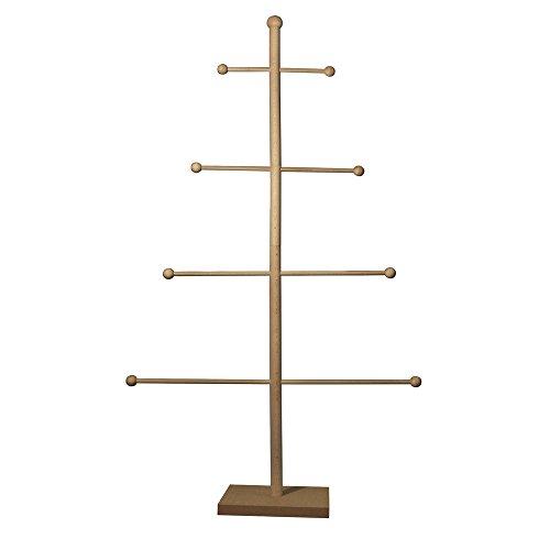 RAYHER 62582000 Holz Baum-Set, 93 x 52 x 18 cm, 17-teilig, SB-Beutel 1 Set