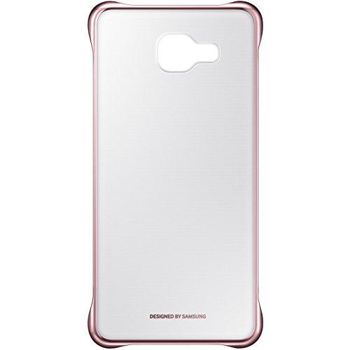 SAMSUNG Clear Cover- Funda Galaxy A5, Color Dorado- Versión Extranjera