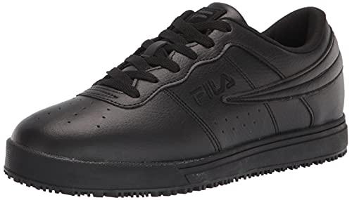 FILA Women's Work Health Care Professional Shoe, BLACK/BLACK/BLACK,8 M US