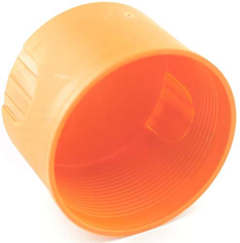 MKK® Inbouwdoos Ø 60 x 45 mm schakeldoos gipsdeksel holle wand droogbouw oranje 5 stuks