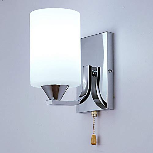Eenvoudige moderne aan de muur bevestigde nachtleeslamp-kristallen wandlamp-leeslamp-bevestigingen.