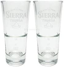 Longdrink-Gläser RARITÄT 6 x Original Sierra Tequila Tonbecher NEU /& selten