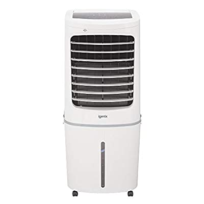 Igenix IG9750 Evaporative Air Cooler Fan, 50 Litre Water Tank Capacity, No Ventilation or Installation Required