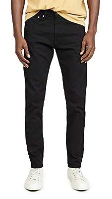 Calvin Klein Men's Skinny Fit Jeans, Forever Black, 32W x 32L from Calvin Klein