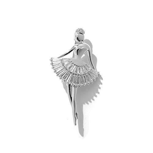 RHGEIUCY Rugeucía Ballet Girl Broche Traje Salvaje Accesorios Lindo Creativo Japonés Pecho...