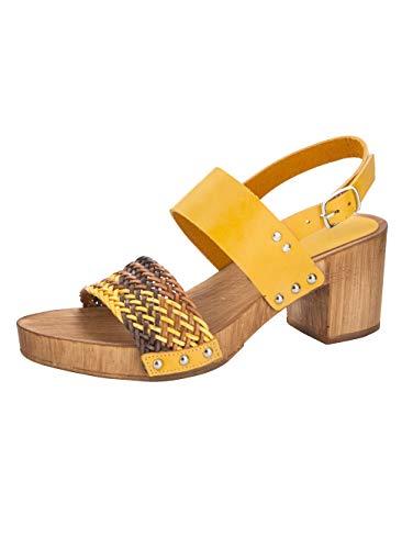 WENZ Sandale Gelb