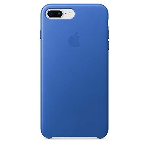 Apple iPhone 7/8 Plus Lederhülle, Electric blau
