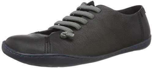 CAMPER Womens Peu Sneaker, Black, 39 EU