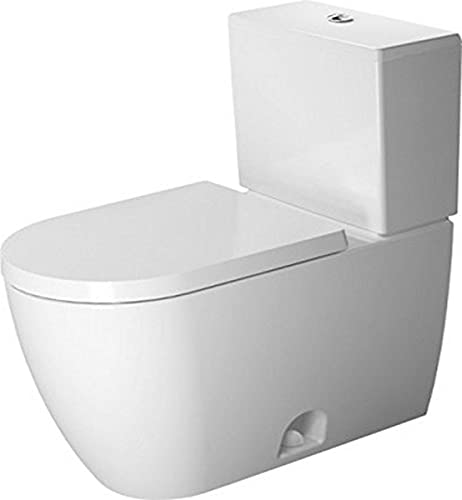 Duravit 2171010000 white Two-Piece toilet ME by STARCK siphon jet, elongated, HET, Large