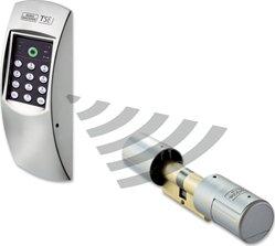 Burg Wächter Elektronisches Türschloss TSE Home Set 4001Pincode, weiß
