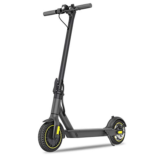 ZS ZHISHANG Electric Scooter, 350W Motor, 10.4AH Battery 3 Speed Modes Rechargeable Electric Scooters Lightweight and Foldable Scooter for Adults, Max Speed 25KM/H, Max Load 100KG, UK Stock